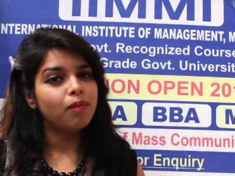 IIMMI -Mass Communication, BCA /MCA And BBA/MBA College In Delhi