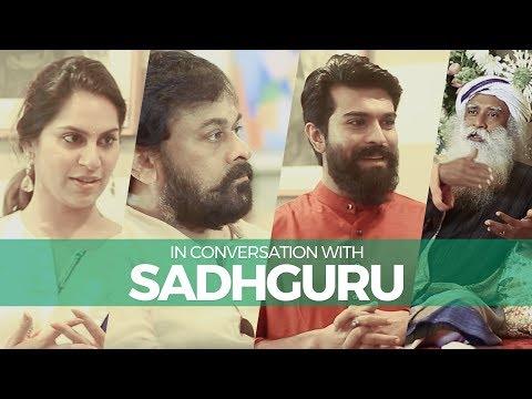 In Conversation with Sadhguru | Chiranjeevi, Ram Charan, Upasana