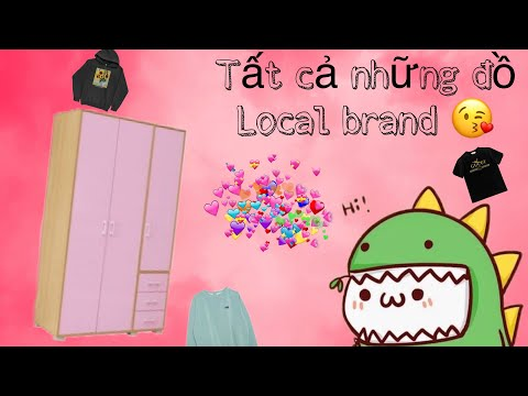 Giới thiệu cho mọi người tất cả những đồ local brand mà Quỳnh có 😘[LOCAl BRAND]