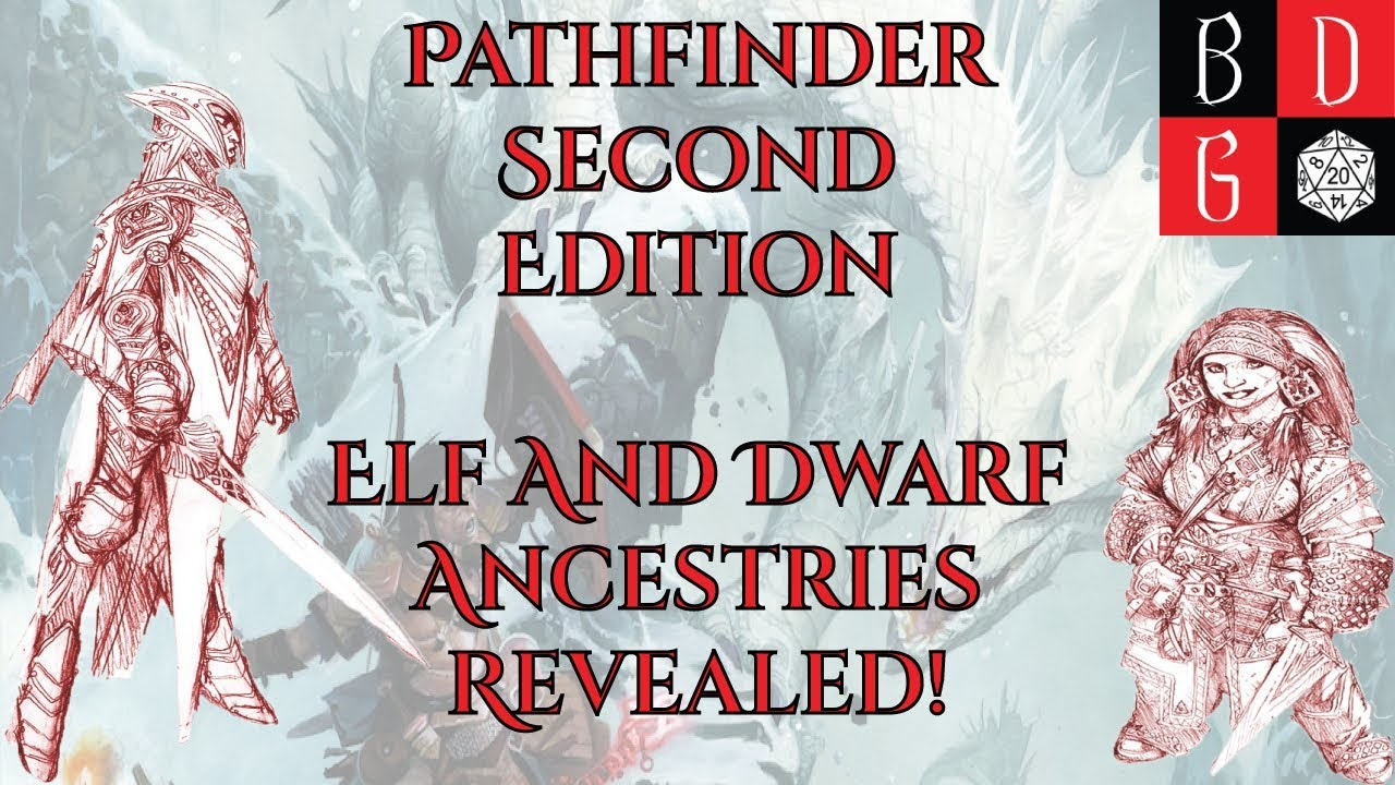 pathfinder second edition elf and dwarf ancestries revealed feats