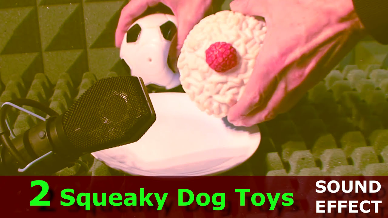 Dogs Squeaky Toy Sound Effect 2 Toys For