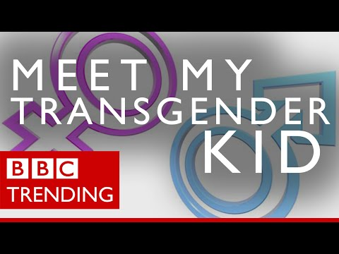 "Meet my transgender kid - Parents help their children ""come out"" online - BBC Trending"