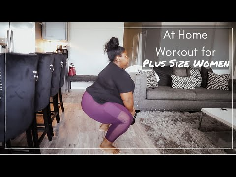 Workout At Home for Plus Size Women || Workout for Beginners