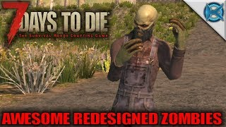 7 days to die | awesome redesigned zombies | let's play gameplay alpha 16 | s16.exp-1e03