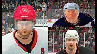 Ilya Kovalchuk Player Progression from NHL 2003 to NHL 17! #ATL #PS4