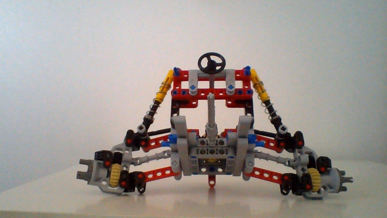 lego independent suspension steering drive youtube. Black Bedroom Furniture Sets. Home Design Ideas