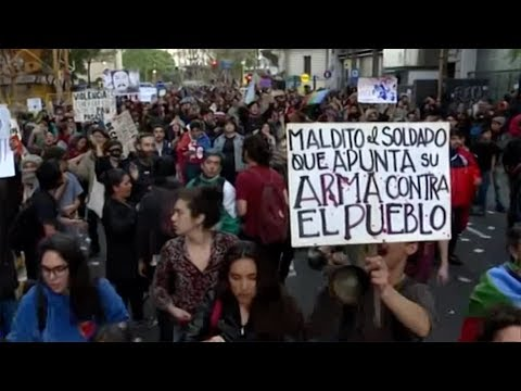 Chilean President Pinera promises change after deadly demonstrations