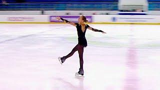 Мария Захарова Произвольная программа Девушки Йошкар Ола Кубок России по фигурному катанию 2021
