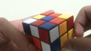 3x3 rubik küp çözümü(basit-çömez yöntemi)