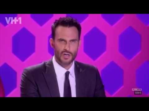 Cheyenne Jackson says 'Aquapussy' for 2 minutes.