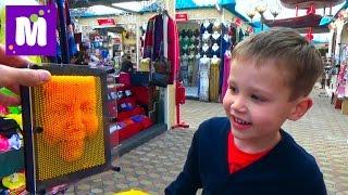Макс в Дубаи День #2 идём в Крик Парк и Глобал Вилледж покупаем игрушки VLOG