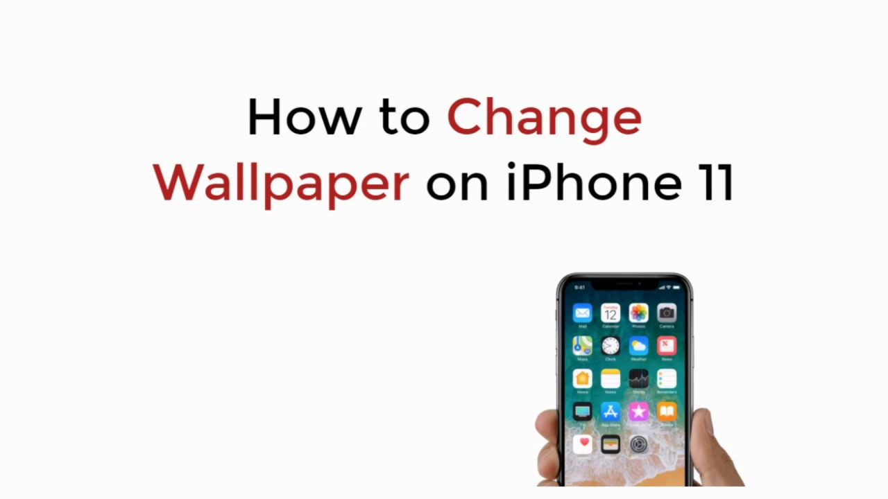 Iphone 11 How To Change Wallpaper On Iphone 11 11 Pro 11 Pro Max