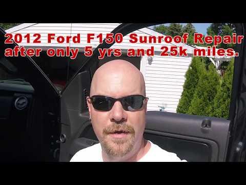 2012 F150 Sunroof Failure