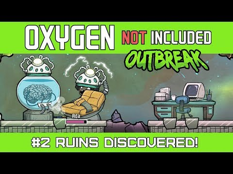 RUINS DISCOVERED! - Oxygen Not Included OUTBREAK Update - Ep2 [4k]