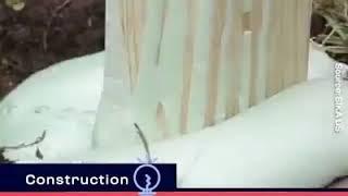 New invention 2019 expanding Concrete