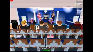 (Roblox) |{}USA{}| The United States of America: Press Conference 3/16/14