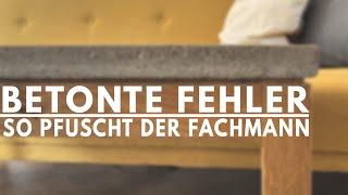 Pfusch beim Möbelbau - kleine Tricks mit großer Wirkung