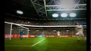 Pro Evolution Soccer 2011 Gameplay (PC) - A Standard Goals Movie