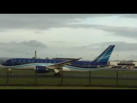 Azerbaijan Airlines Dreamliner