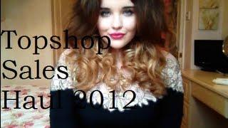 Topshop Sales Haul Thumbnail
