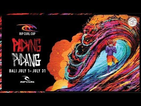 IT\'S ON! | Rip Curl Cup, Padang Padang, Bali 2018
