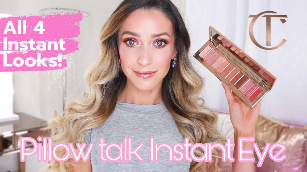 new pillow talk instant eye palette
