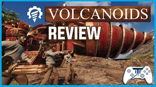 Volcanoids Review - Volcano...RUN! (Video Game Video Review)