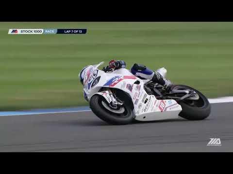 MotoAmerica Stock 1000 Race at Indianapolis Motor Speedway 2020