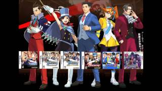 Repeat youtube video Ace Attorney Music Compilation: Courtroom Lounge [Version 1] 2013