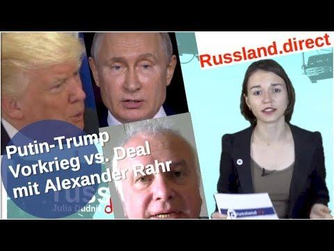 Putin-Trump: Vorkrieg vs. Deal mit Alexander Rahr