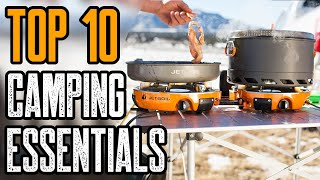Top 10 Camping Gęar Essentials 2020 | Camping Gadgets and Innovations
