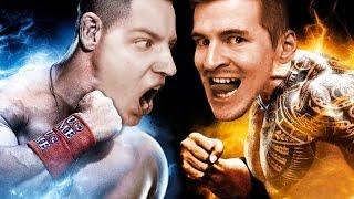 Wrestling YouTUBE'rów - IZAK vs GIMPER