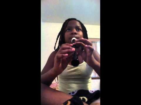 how to play dynamite on the recorder