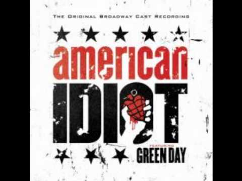 Green Day - When It's Time - The Original Broadway Cast Recording