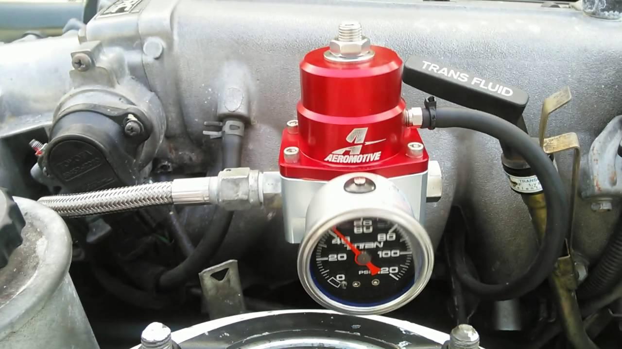Aeromotive Fuel Pressure Regulator Serious 2JZ Toyota Supra Problems!!!