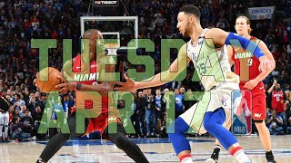 NBA Daily Show: Apr. 17 - The Starters