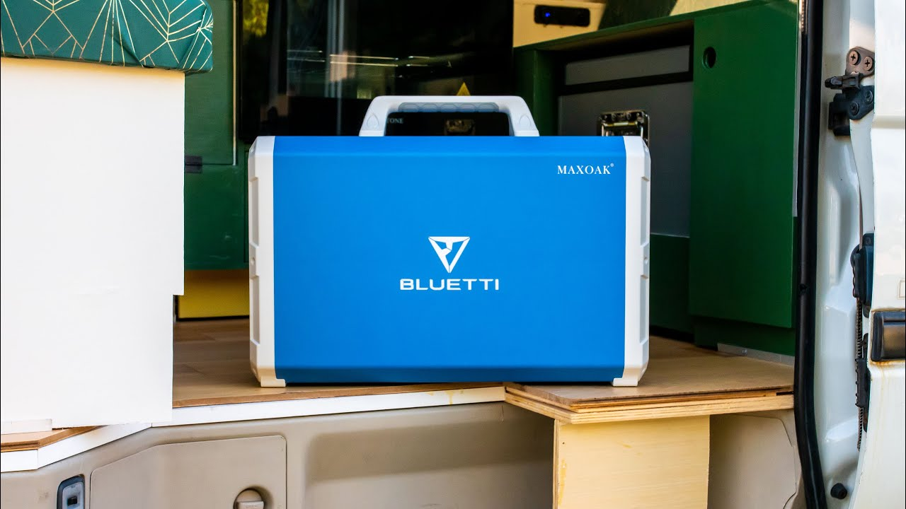 SOLAR POWER PLANS Toyota 4x4 Camper Van Build | Maxoak Bluetti EB240 First Impressions