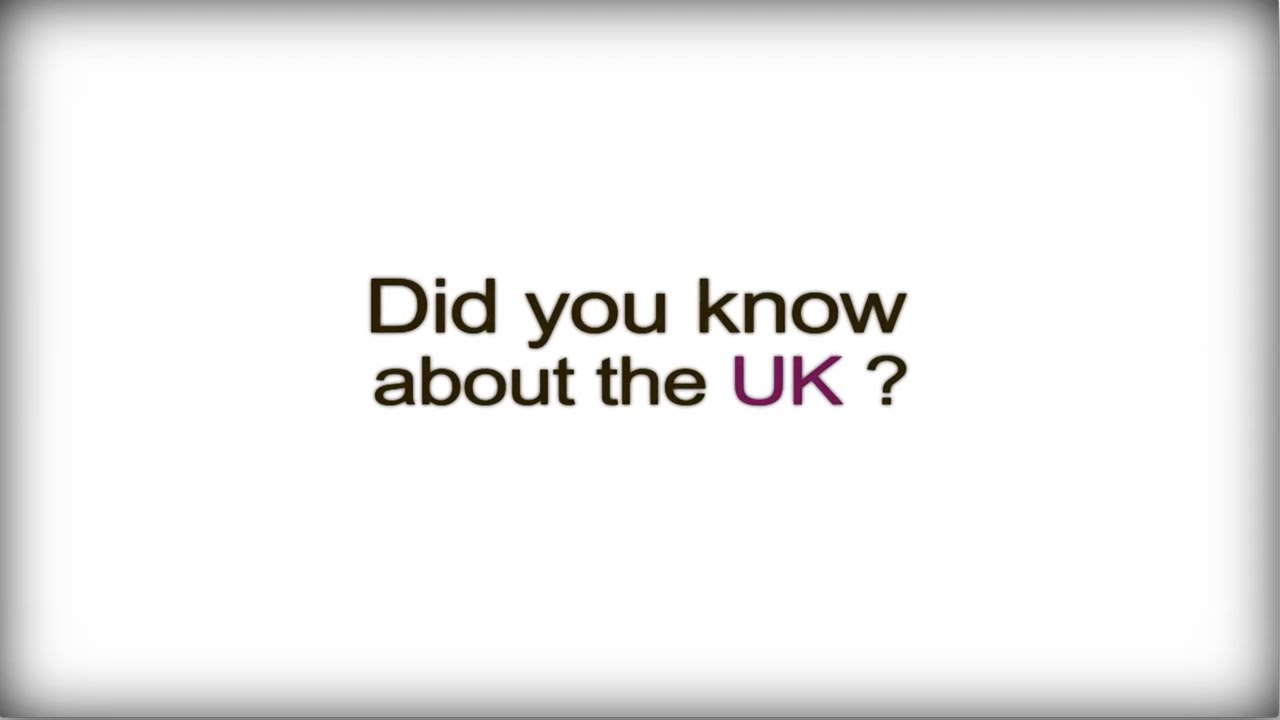 Did you know? - The UK - British Business Culture video