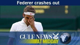 Roger Federer crashes out of Wimbledon - GN Midday Thursday June 27 2013