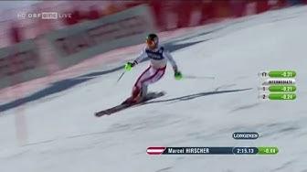 Kombi Slalom 2017: SILBER Marcel Hirscher (AUT) | Herren - Ski-WM St. Moritz Platz 2