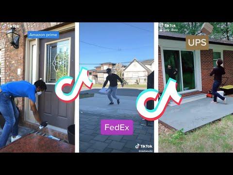 Amazon vs UPS vs fedex tiktok compilation