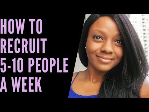 Network Marketing Recruiting Tips: How to Get 5-10 Sign Ups a Week