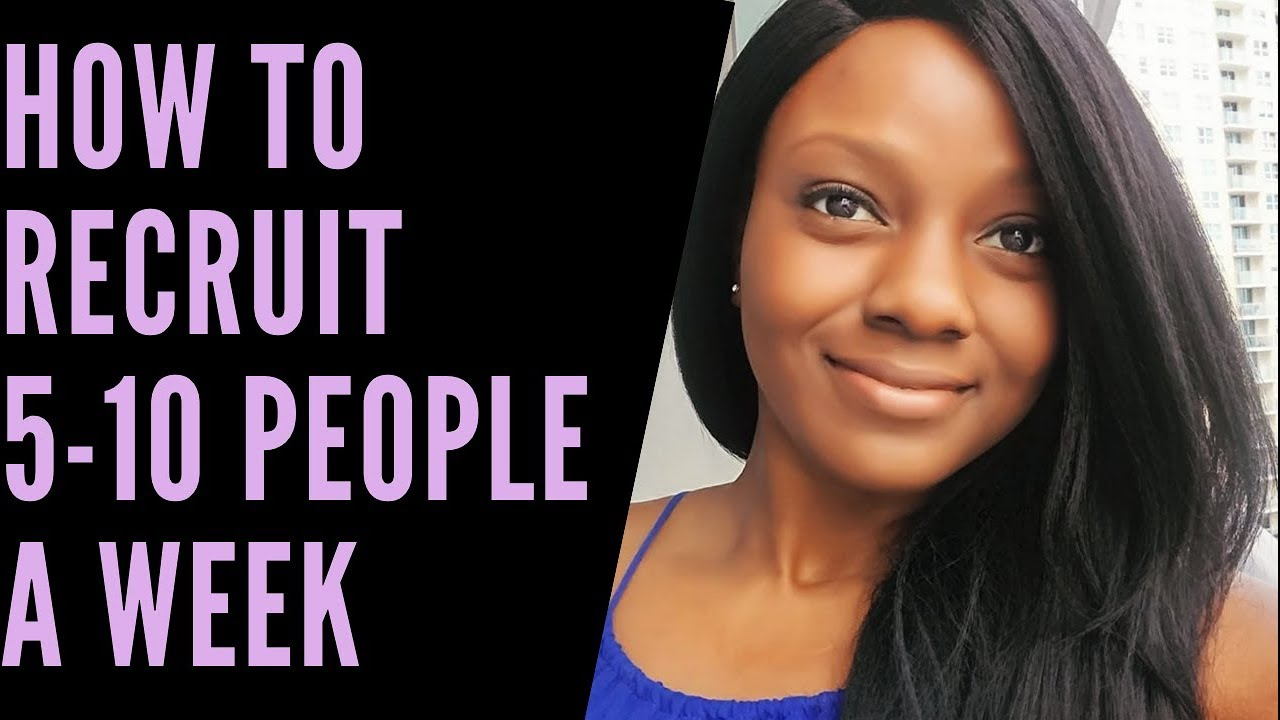 Network Marketing Recruiting Tips  How to Get 5-10 Sign Ups a Week