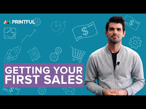 Get Your First Print On Demand Sales: 5 Easy Steps 2019