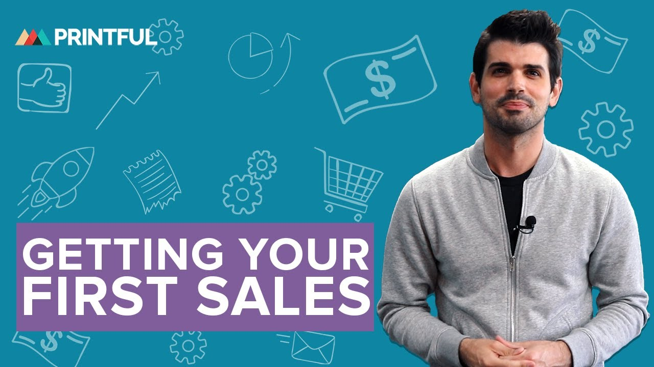 349301e1f5d Get Your First Print On Demand Sales: 5 Easy Steps 2019 - YouTube