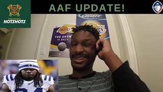 AAF Update! My Thoughts On Trent Richardson And Trevor Knight