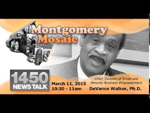 March 11, 2015 Montgomery Mosaic Radio Show