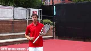Salzenstein TENNIS Return of Serve, 4 Deadly Mistakes you should avoid