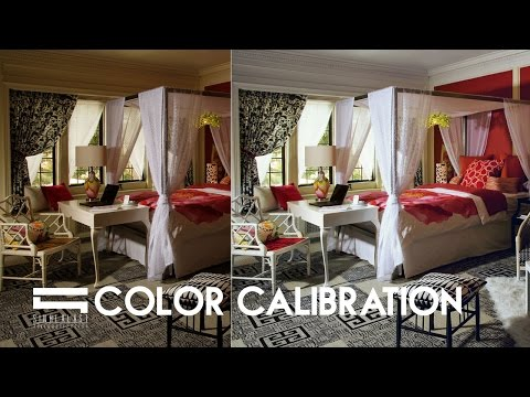 Color Balance Interior - Photoshop Architecture