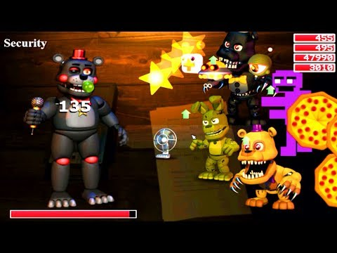 Five Nights at Freddy's: World - NEW Final Boss! (The Lefty FNAF 6 Mod)